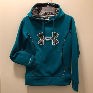 Under Armour Storm Sweatshirt Green/Camo Women XS